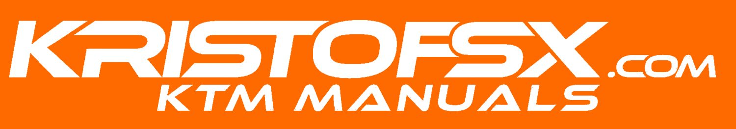 KTM Service Manuals for every KTM motorcycle, free download!